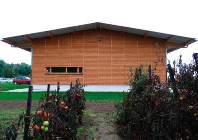Hangar agricole -  Architecte : C. DESMICHELLE