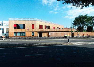 Ecole Epinay sur Seine - Architecte : C. DESMICHELLE